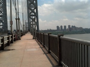 How you walk into Manhattan